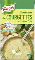Knorr Riche en Légumes Soupe Liquide Courgettes et Chèvre Frais 1l - Product - fr