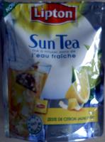 Sun Tea citron - Product