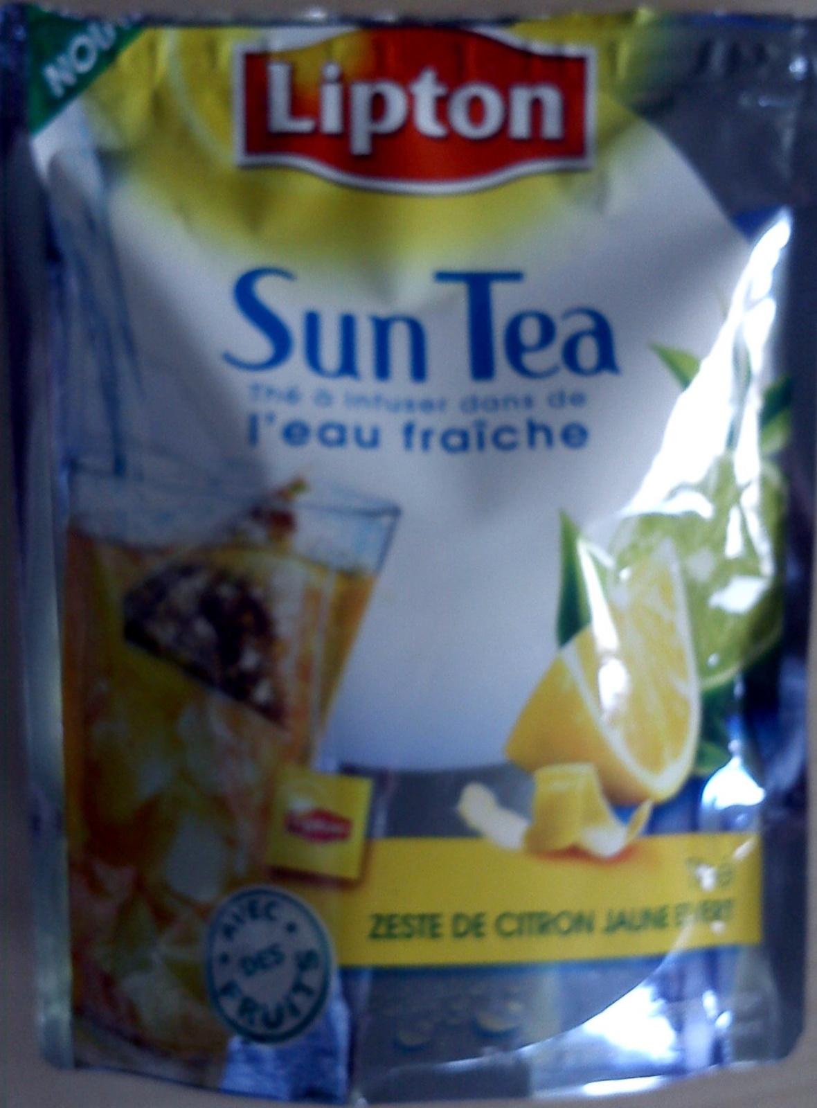 Sun Tea citron - Product - fr