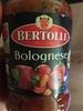 Sauce bolognese - Prodotto
