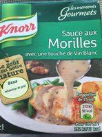 Sauce au Morilles - Produit
