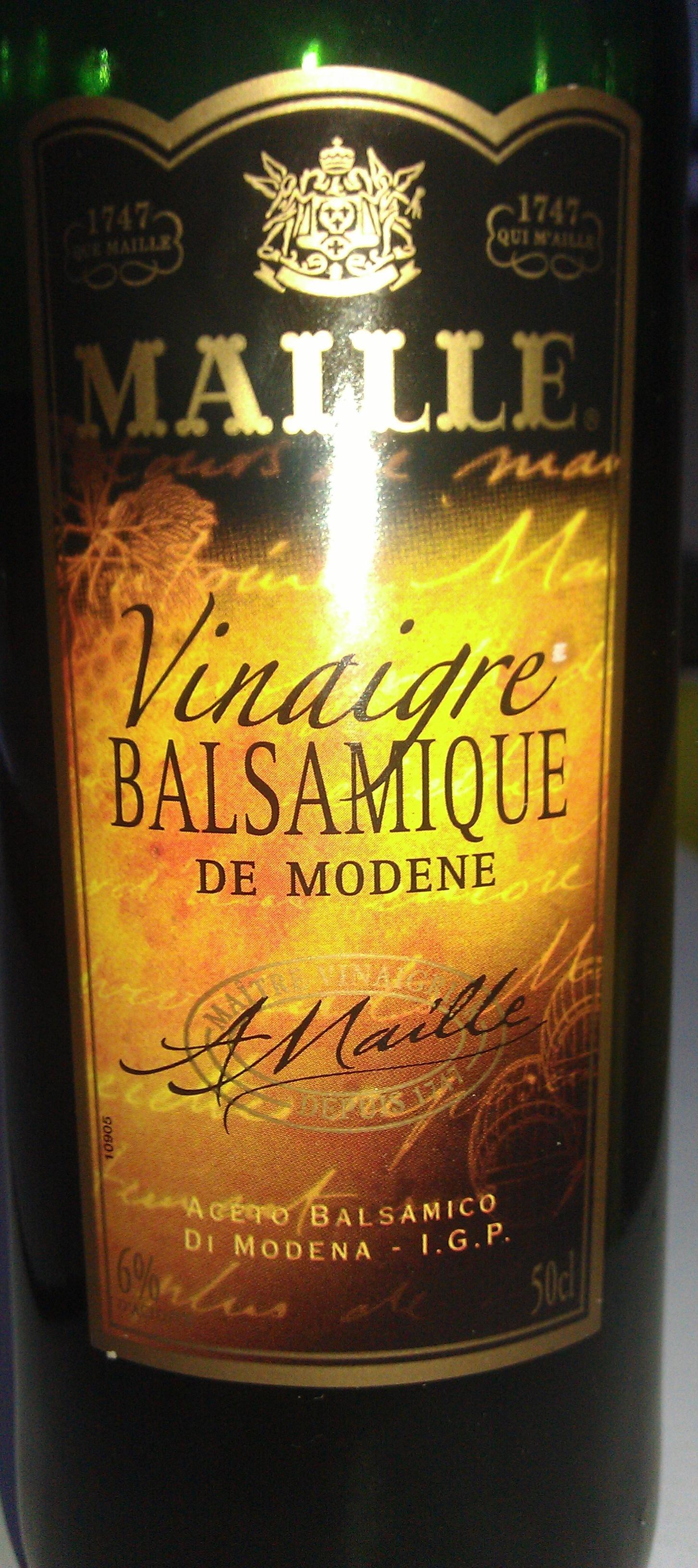 Maille - Vinaigre balsamique de Modène - Produit - fr