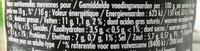 Moutarde fine de Dijon - Informations nutritionnelles - fr