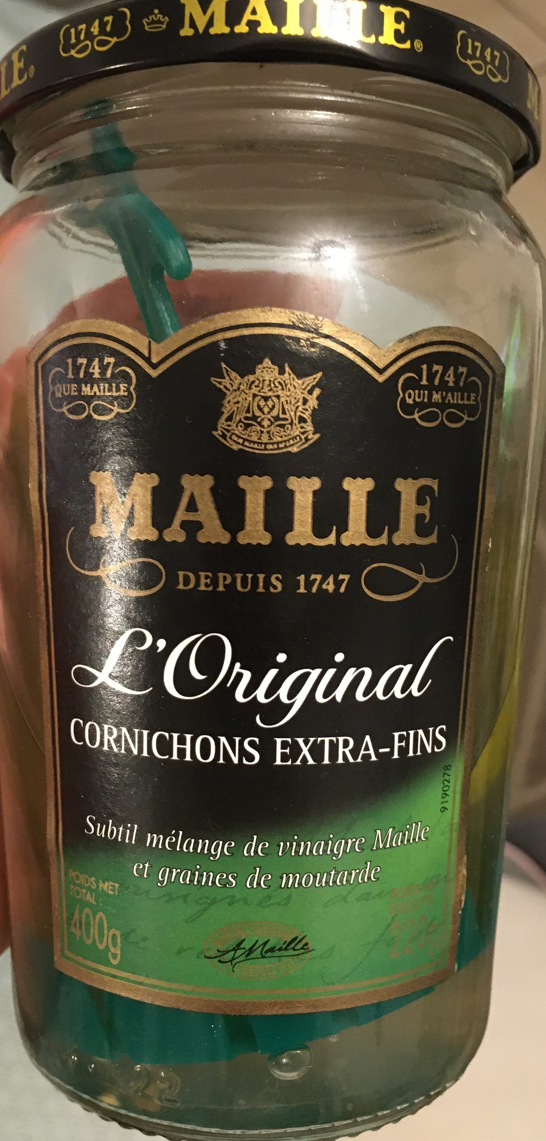 Maille Cornichons Extra-Fins - Product - fr