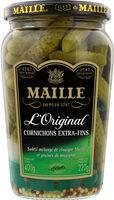Maille Cornichons Extra-Fins L'Original Bocal - 製品 - fr