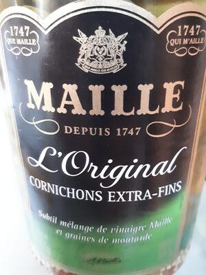 Cornichons Extra-Fins L'Original - Produit