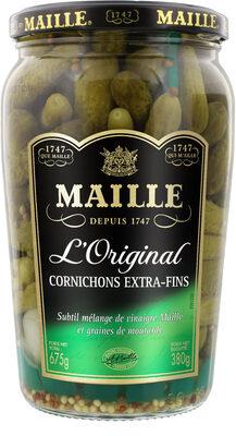 Maille Cornichons Extra-Fins Bocal - Prodotto - fr