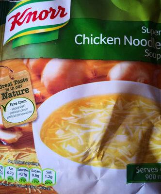 Chicken noodle soup mix - Produit