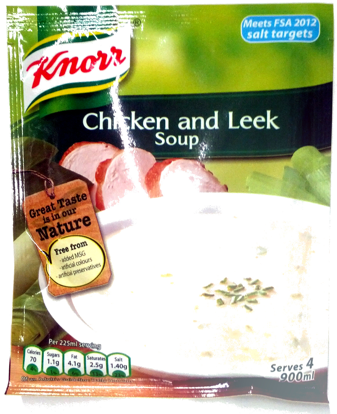Soupe chicken & leek - Product