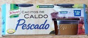 Caldo de pescado en cacitos pack 4 tarrinas 112 g - Producto - es