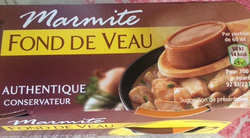 Marmite fond de veau - Produit