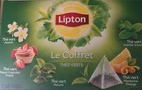 Le Coffret Thés Verts - Product