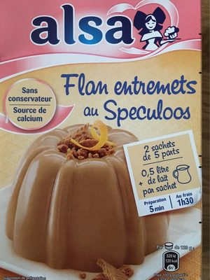 172G Flan Speculoos Alsa - Product - fr