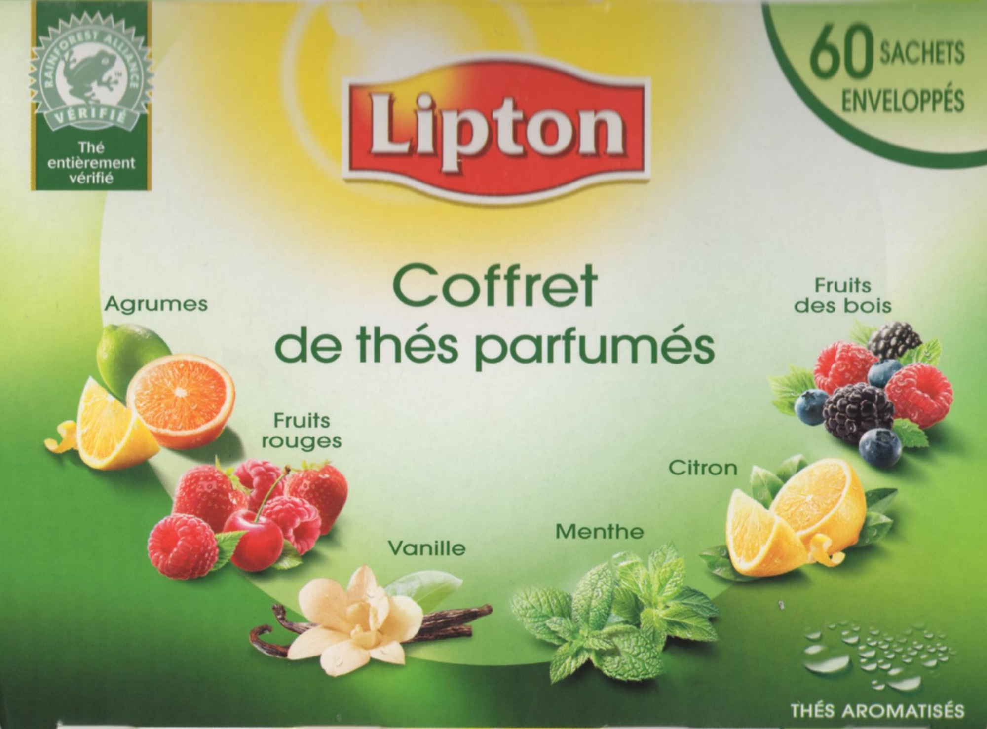 Coffret de Thés parfumés - Product