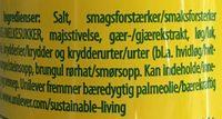 Knorr Aromat - Ingredients - fr