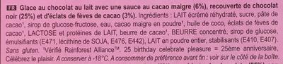 Magnum Infinity Chocolate - Ingrediënten