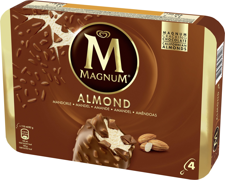 Magnum Batonnet Glace Amande x 4 440 ml - Produkt