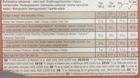 Magnum Batonnet Glace Amande x 4 440 ml - Nährwertangaben