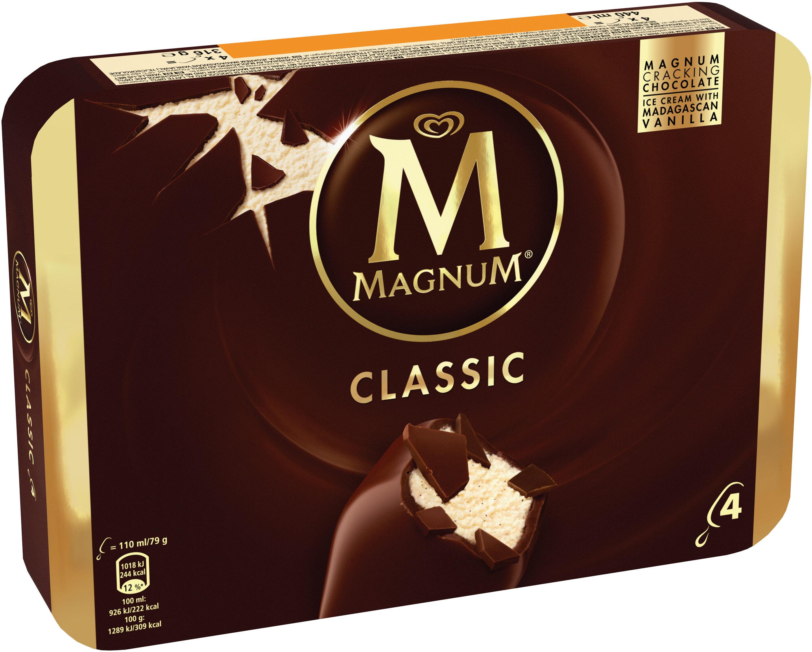 MAGNUM Glace Bâtonnet Classic 4x110ml - Produkt - fr