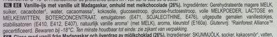 Magnum Classic - Ingrediënten - nl