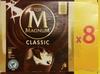 Magnum Batonnet Glace Classic x8 880ml - Produit