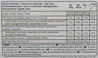 MAGNUM Glace Bâtonnet Chocolat Blanc 4x110ml - Nutrition facts - fr