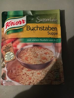 Buchstaben Suppe - Product