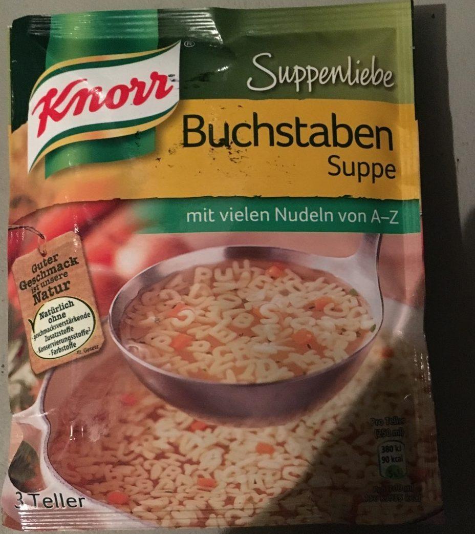 Suppe, Buchstaben Suppe - Produit - fr