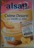 Alsa - Crème Dessert à la Vanille des Isles - Produit