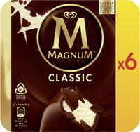 Magnum Batonnet Glace Classic x6 660ml - Produit - fr