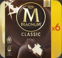 Magnum Batonnet Glace Classic x6 660ml - Product - nl