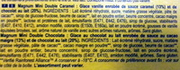 Magnum mini Double Caramel Double Chocolate - Ingrédients