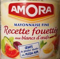 Mayonnaise fine - recette fouettée aux blancs d'oeufs - Product