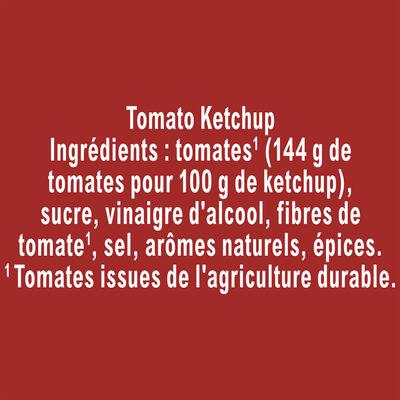 Amora Ketchup Nature Flacon Top Up 575g - Ingrédients - fr