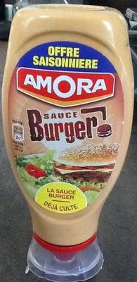 Amora sauce buger - Product - en