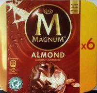 Magnum Batonnet Glace Amande x6 660ml - Product - fr