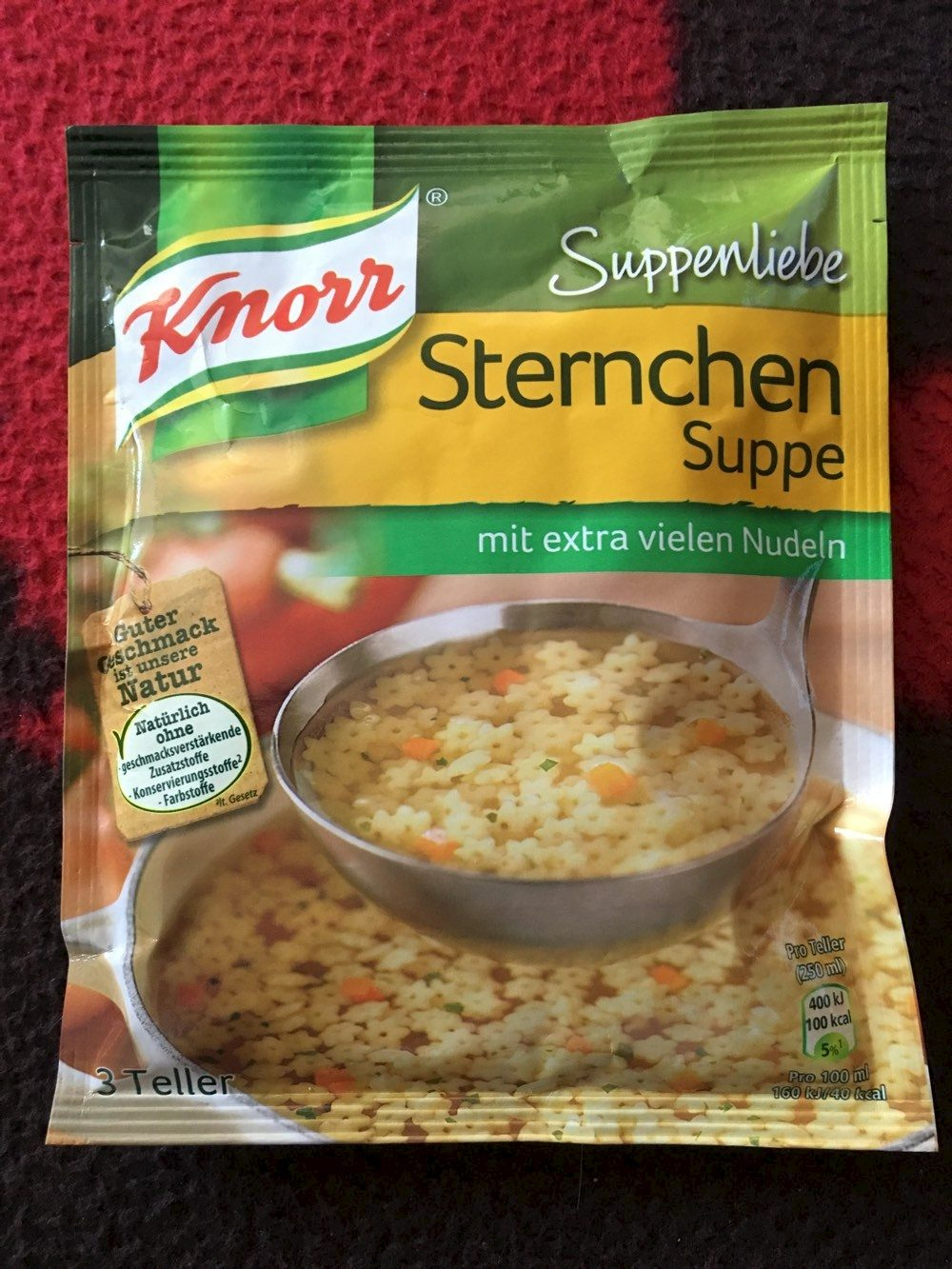 Sternchen Suppe - Knorr - Produit