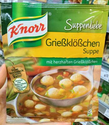 Grießklößchen Suppe - Produit