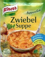 Zwiebelsuppe - Produit - de