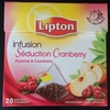 Infusion séduction cranberry - Product