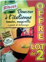 Douceur à l'Italienne tomates, mozzarella - Produit