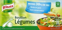 Knorr Bouillon Légumes Réduit en Sel 12 Cubes 109g - Produit - fr