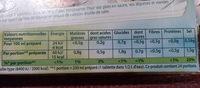 Knorr Bouillon Légumes Réduit en Sel 12 Cubes 109g - Informations nutritionnelles - fr