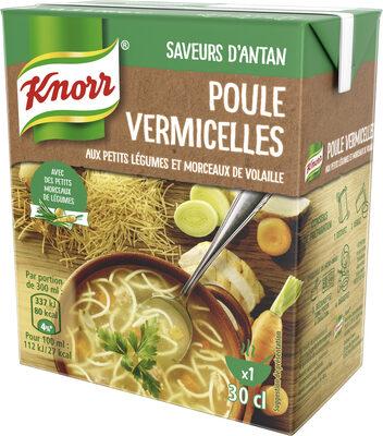 Knorr Saveurs d'Antan Soupe Poule Vermicelles 30cl - نتاج - fr