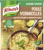 Knorr Saveurs d'Antan Soupe Liquide Poule Vermicelles 30cl - Produit