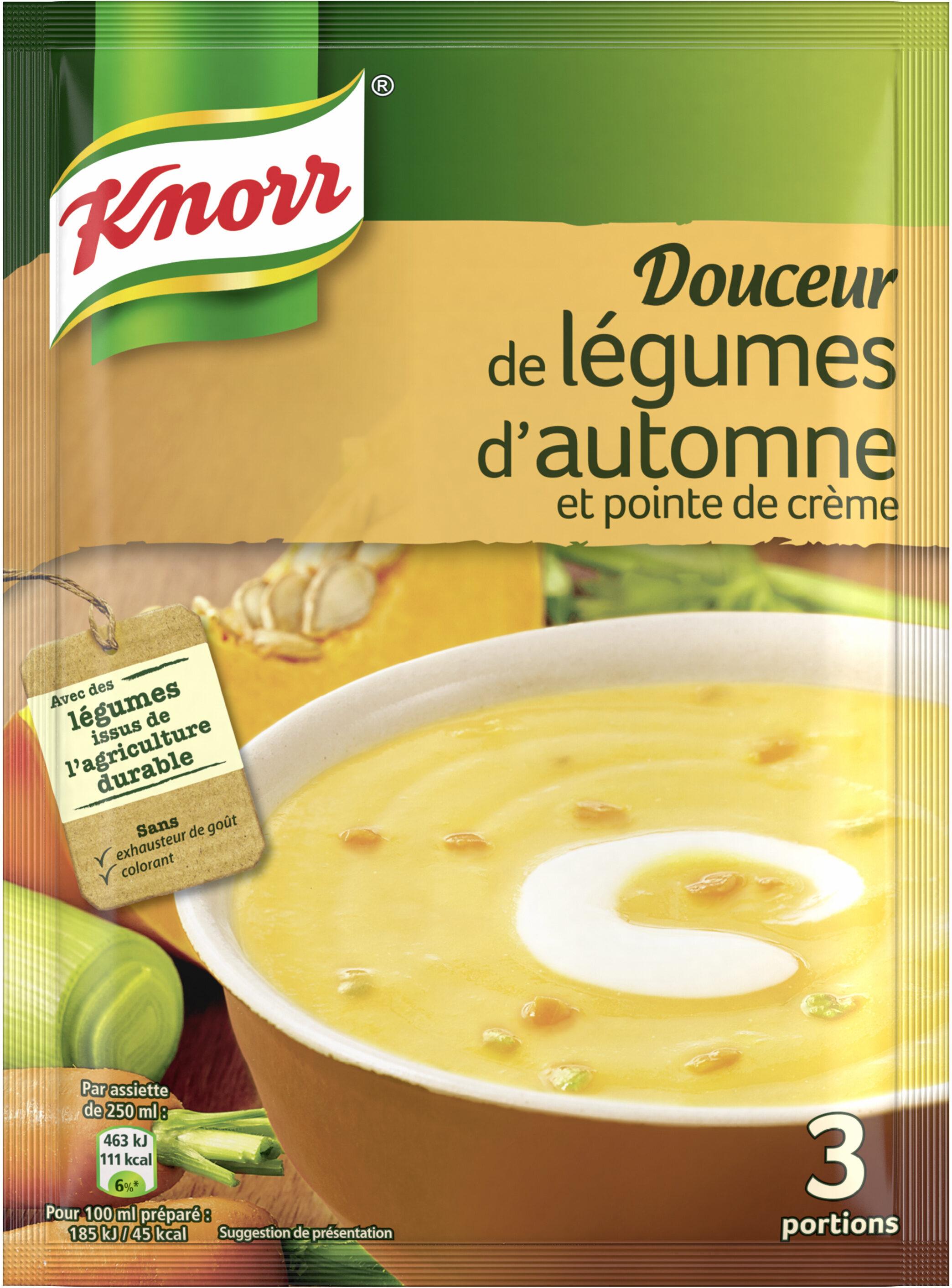 Knorr Soupe Douceur de Légumes d'Automne 83g 3 Portions - Prodotto - fr