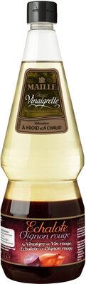 Maille Sauce Vinaigrette Echalote & Oignons Rouges 1L - Product - fr