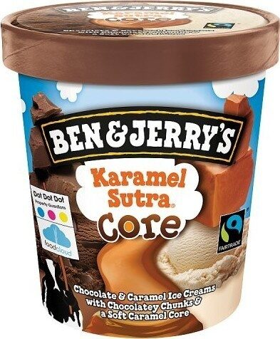 Jerry's  Karamel Sutra Ice Cream - Produit - fr
