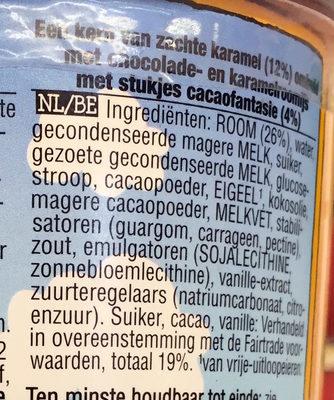 Core Karamel Sutra - Ingrediënten