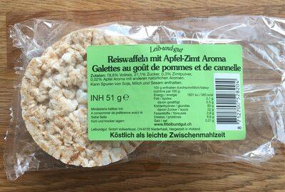 Galettes au goût de pommes et de cannelle - Product